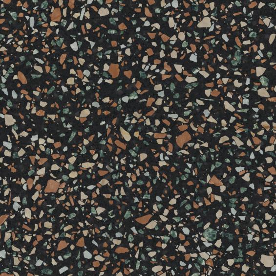 ABK Ceramiche Play Dots Multi Black 20x20cm