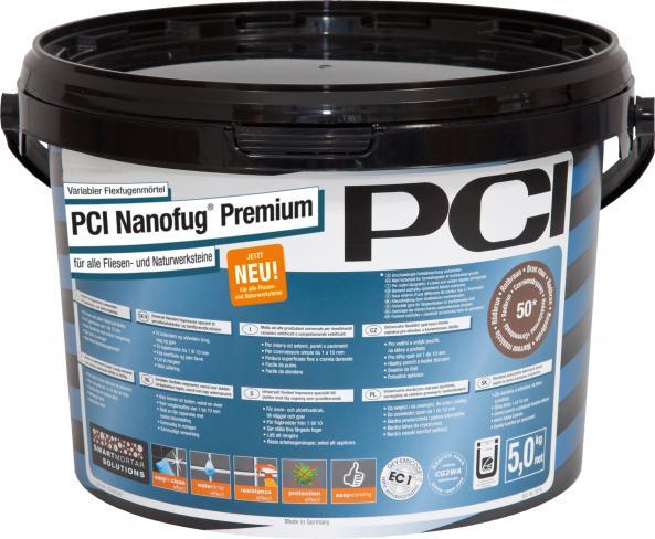 PCI Fugenmasse Nanofug Premium Zementgrau Nr.31 5kg