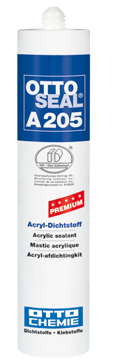 Ottoseal Premium Acryl A205 weiß