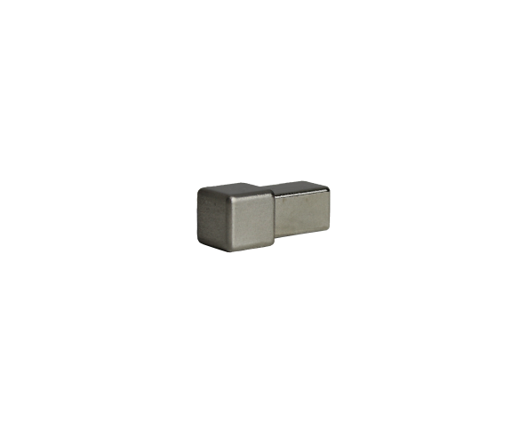 Dural Quadratprofil Außen- und Innenecken Edelstahl gebürstet 10 mm DPSE 100-SF-Y ECO