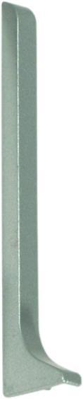 Dural Endkappe links Construct Metall Aluminium Silber Höhe 60 mm