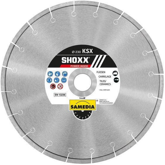 Samedia SHOXX KSX Diamanttrennscheibe Ø230mm