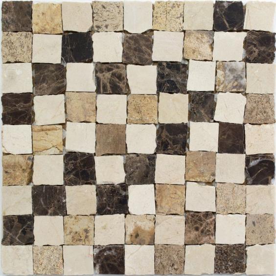 Mosaik Naturstein Castano Cream 30,5x30,5cm