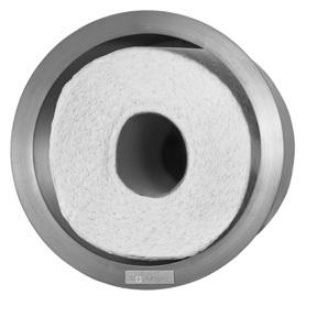 WC Vorratsbehälter Round für 1 Rolle