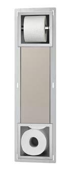 WC Papierhalter mit Vorratsbehälter für 5 Rollen