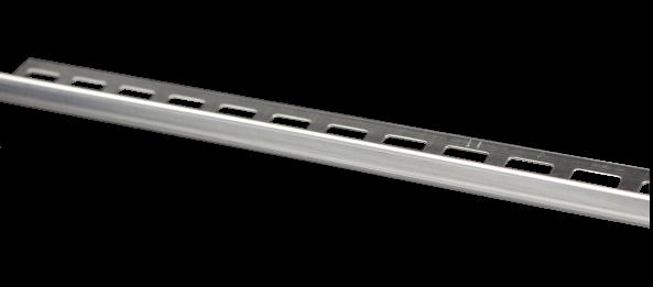 Dural Winkelprofil Edelstahl glänzend 12,5 mm CL 1270 250 cm