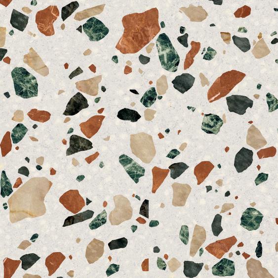 ABK Ceramiche Play Drops Multi White 20x20cm