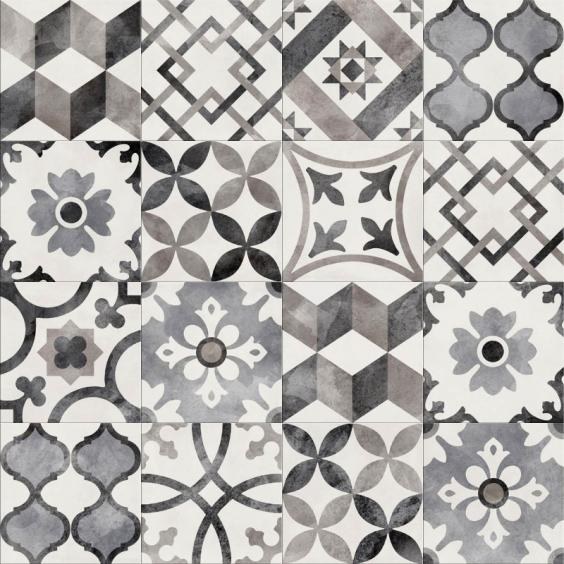 ABK Ceramiche Play Classic Mix Grey 20x20cm