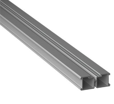 Eterno Ivica Aluminiumbalken/Aluminiumtraverse 15 Stück mit je 2m Länge