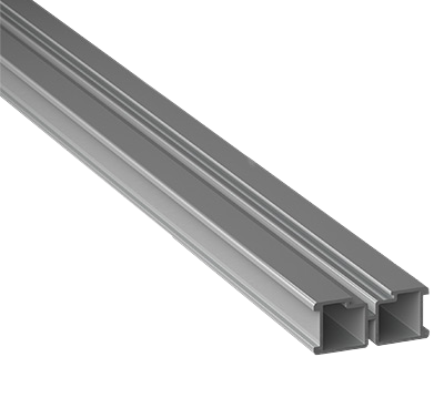 Eterno Ivica Woodeck Aluminiumbalken/ Aluminiumtraverse 3er Set mit je 2m