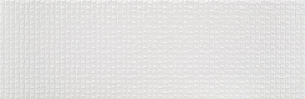 Colorker Arty Wandfliese Lenox White rektifiziert 29,5x90cm
