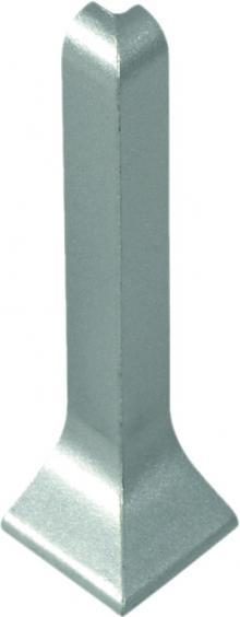 Dural Außenecke Construct Metall Aluminium Silber Höhe 60 mm