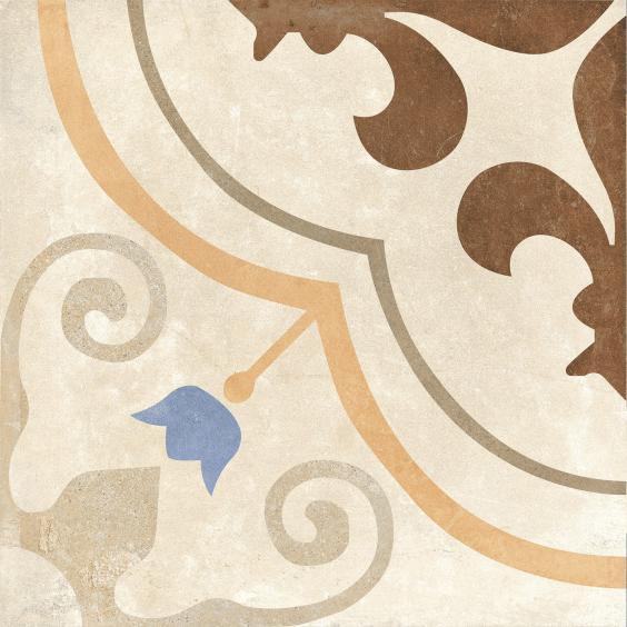 Rondine Swing Dekorfliese (Boden) Beige Multicolor03 20,3x20,3cm