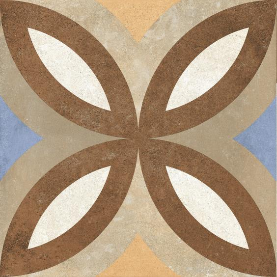 Rondine Swing Dekorfliese (Boden) Beige Multicolor01 20,3x20,3cm