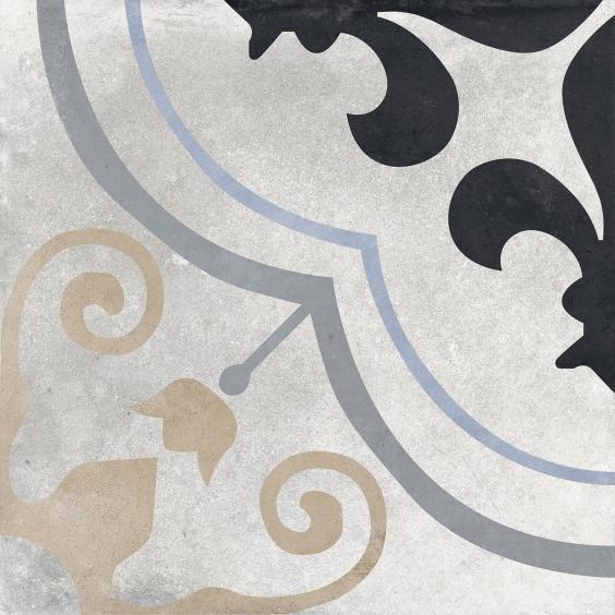 Rondine Swing Dekorfliese (Boden) Blue03 20,3x20,3cm