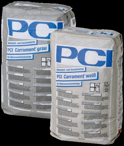 PCI Carrament Naturstein Fliesenkleber weiss 25kg