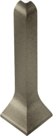 Dural Außenecke Construct Metall Aluminium Titan Höhe 60 mm