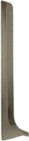 Dural Endkappe links Construct Metall Aluminium Titan Höhe 60 mm