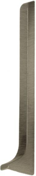 Dural Endkappe rechts Construct Metall Aluminium Titan Höhe 60 mm