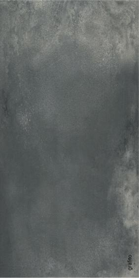 Rocersa Contract Feinsteinzeug Terrassenfliese Grafito 60x120x2cm rektifiziert