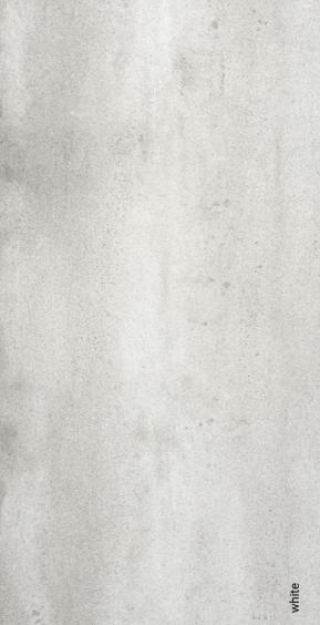 Rocersa Contract Feinsteinzeug Terrassenfliese White 60x120x2cm rektifiziert