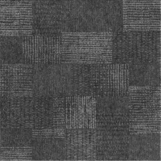 Rocersa Fossil Feinsteinzeug Terrassenfliese Decor Dark 100x100x2cm rektifiziert