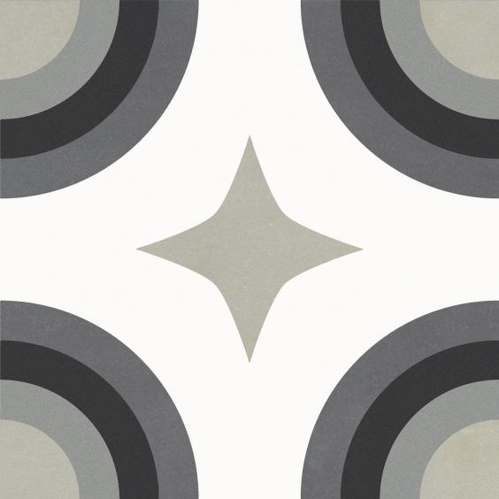 Rondine Swing Dekorfliese (Boden) Night&Day02 20,3x20,3cm