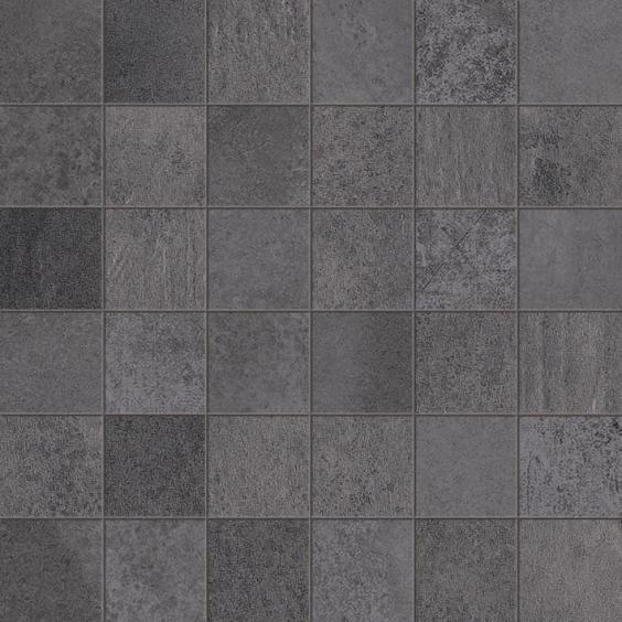 Dom Ceramiche Entropia Betonoptik Mosaik Antracite 30x30cm (5x5cm)