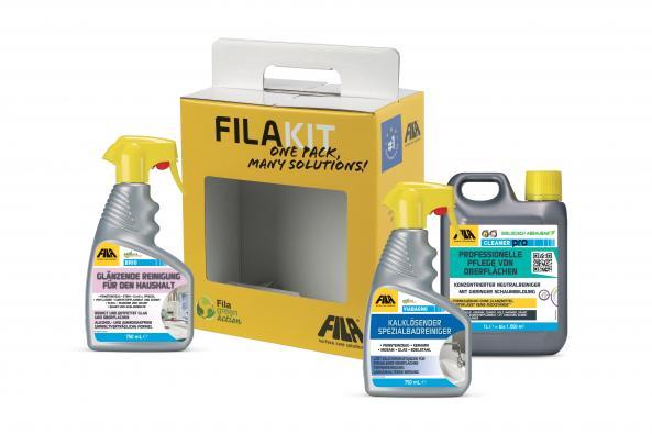 Fila Kit2 Universal Reinigungsset für Fliesen und Bad