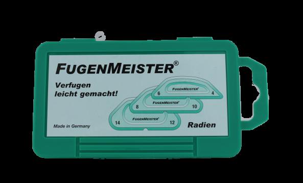 Silikon Fugenschablonen Set 3-teilig Radien