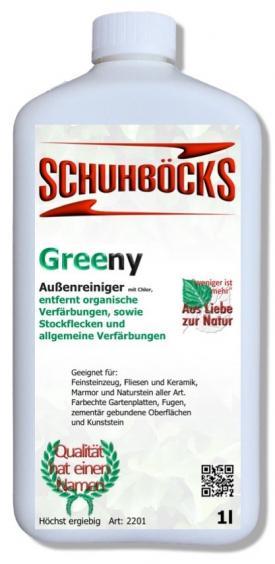 Schuhböcks Greeny Aussenreiniger 1L