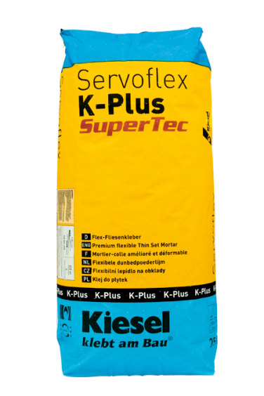 Kiesel Bauchemie Fliesenkleber Servoflex K-Plus SuperTec 20kg