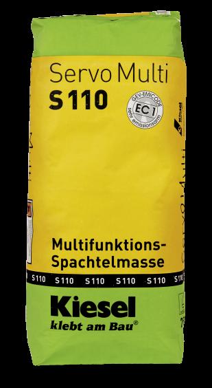 Kiesel Bauchemie Servomulti S110  25kg Multifunktionsspachtelmasse