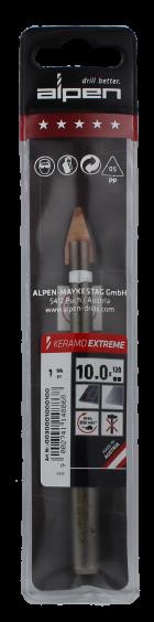 Alpen Drills Fliesenbohrer und Glasbohrer Keramo Extreme Ø 10mm