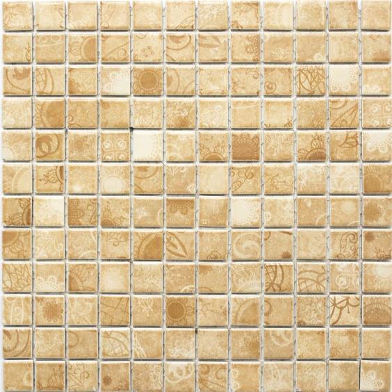 Mosaik Keramik Landhaus Beige 30x30cm