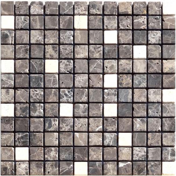 Mosaik Naturstein Emperador Cream Mix 30x30cm