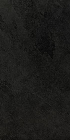 Caesar Slab Bodenfliese Black 30x60cm R10