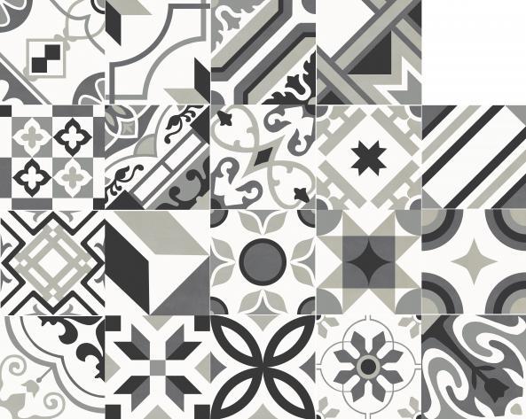 Rondine Swing Dekorfliese (Boden) Night&Day Carpet 20,3x20,3cm