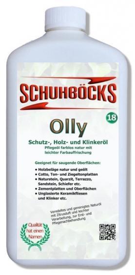 Schuhböcks Olly Schutz- Holz- und Klinkeröl 0,25l