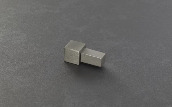Proline Quadratprofil Winkelabschluss Außen- und Innenecken Edelstahl gebürstet