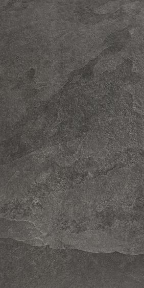 Rocersa Axis Feinsteinzeug Terrassenfliese Black 60x120x2cm rektifiziert