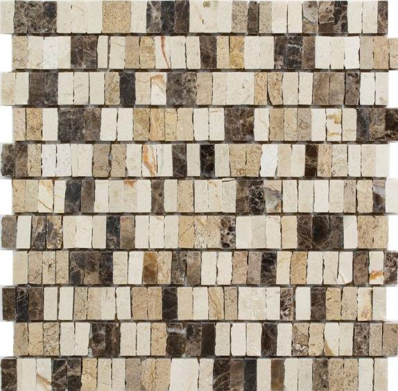 Mosaik Naturstein Castano Cream 30x30cm