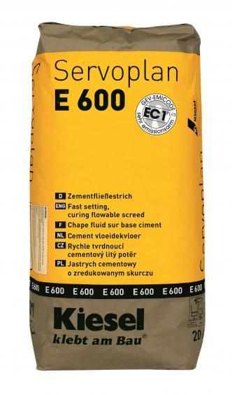 Schnellestrich Kiesel Bauchemie Servoplan E600