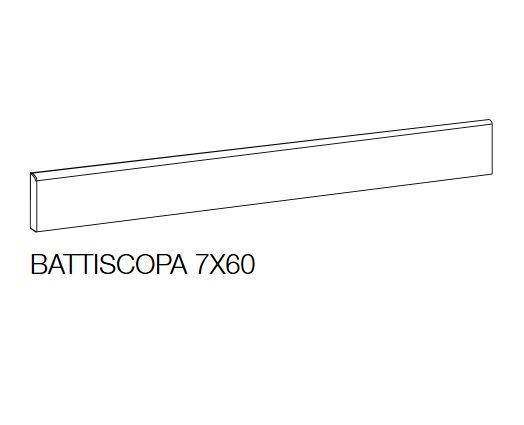 Sichenia Space Sockel Taupe 7x60cm