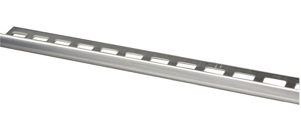 Dural Fliesenprofil Winkel Edelstahl glänzend 10 mm CL 1070 250 cm